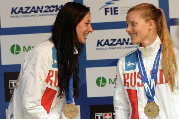 Екатерина Дьяченко (слева) и Яна Егорян