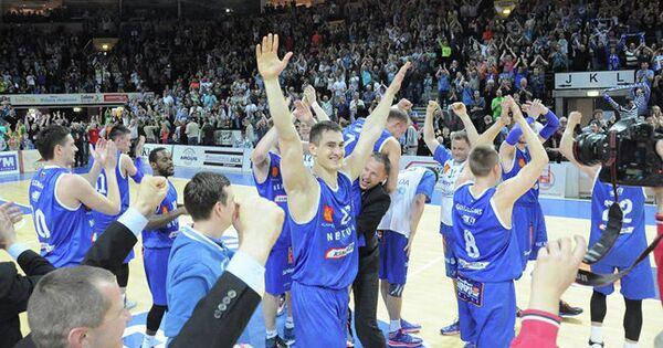 Баскетболисты Нептунаса