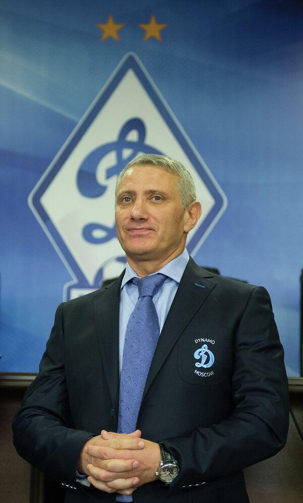 Президент ФК Динамо Борис Ротенберг