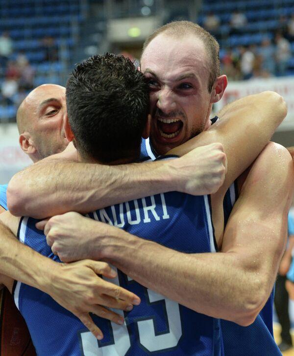 Баскетболисты сборной Италии