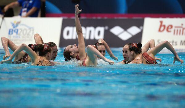 Команда России по синхронному плаванию