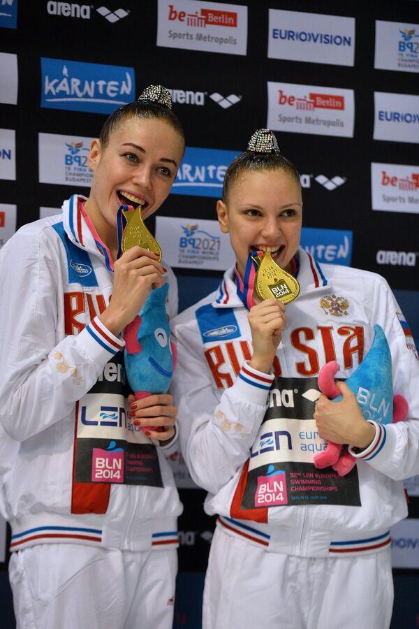 Дарья Коробова и Светлана Колесниченко