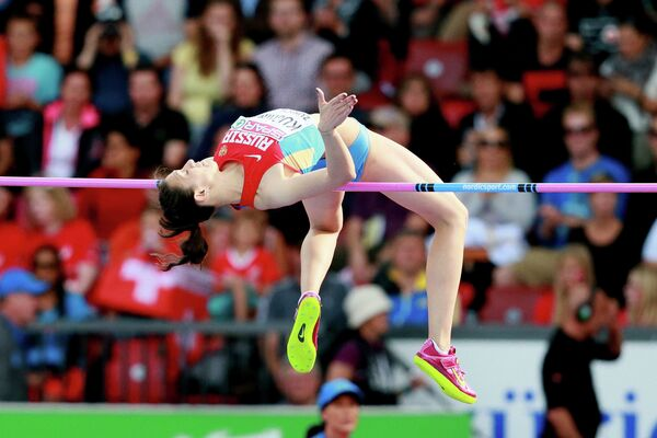 Российская спортсменка Мария Кучина