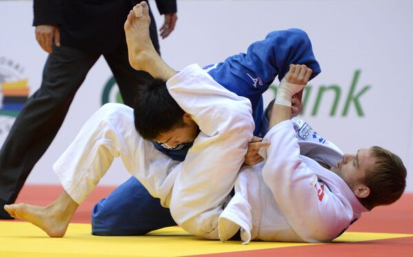 Михаил Пуляев (Россия) и Кенго Такаичи (Япония)