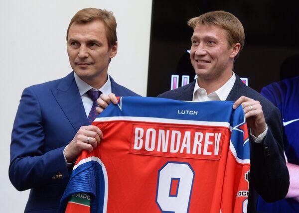 Сергей Федоров (слева) и Алексей Бондарев