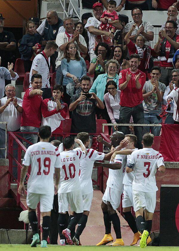Футболисты Севильи
