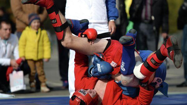 Соревнования по боевому самбо