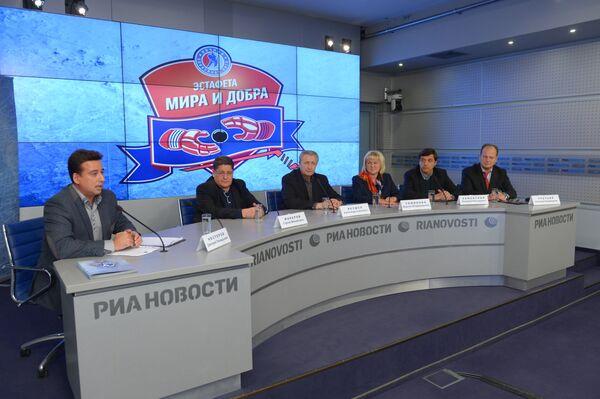 Пресс-конференция с участием исполнительного директора Ночной хоккейной лиги Александра Третьяка