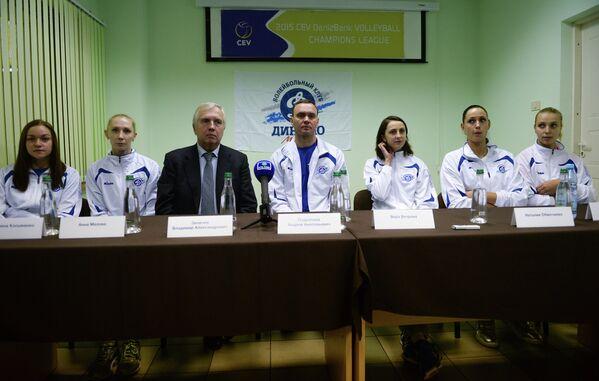 Волейбол. Представление ЖВК Динамо (Москва) сезона 2014/2015