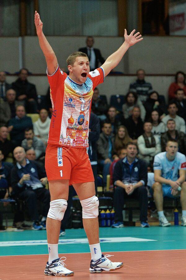 Либеро Динамо (Москва) Алексей Обмочаев