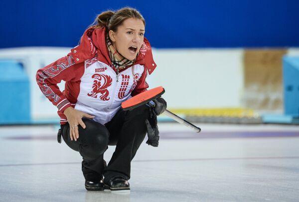 Игрок сборной команды Россия-1 Анна Сидорова