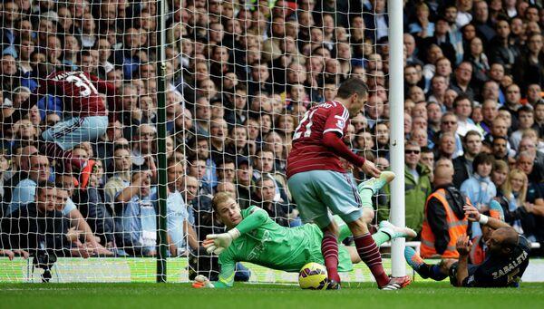 Гол Сахо принес Вест Хэму победу над Манчестер Сити в матче премьер-лиги