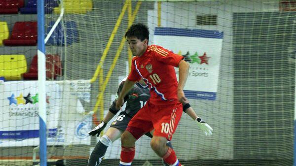 Игрок сборной России по мини-футболу Артем Ниязов