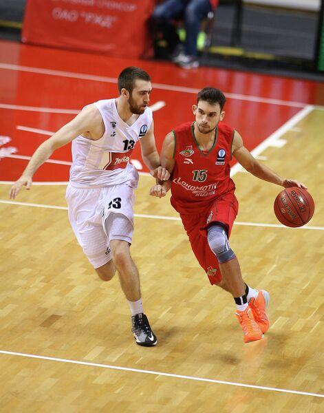 Максим Колюшкин (справа) и Джейк Одум