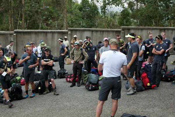 В составе команды на тимбилдинг в Африку поехали гонщики, которые начнут выступать за Tinkoff-Saxo с 2015 года