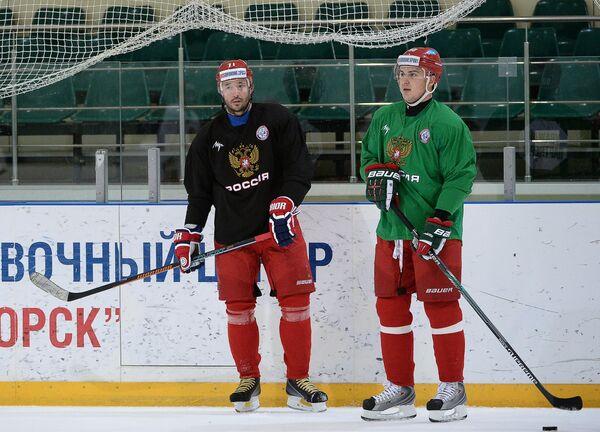 Илья Ковальчук (слева) и Кирилл Петров