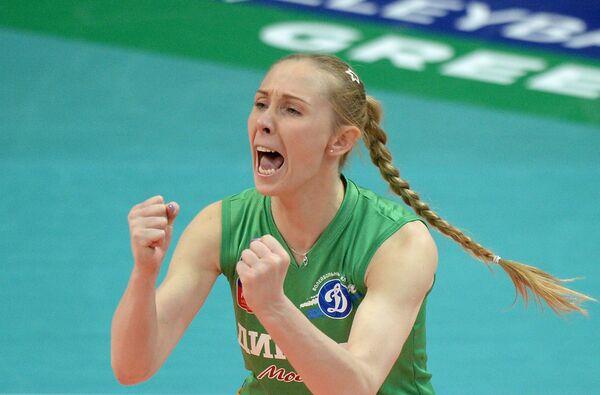 Либеро ВК Динамо (Москва) Анна Малова.