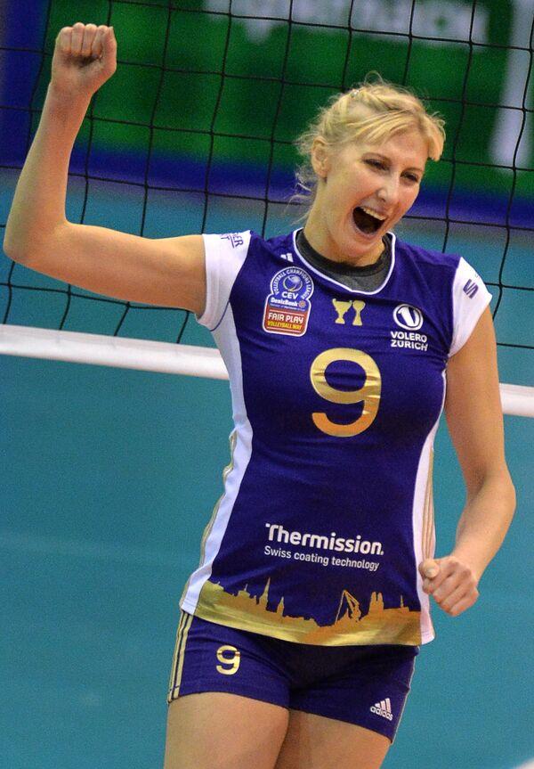 Игрок ВК Волеро Наталья Маммадова