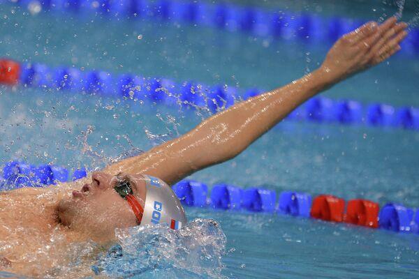 Плавание. Чемпионат мира на короткой воде. Первый день
