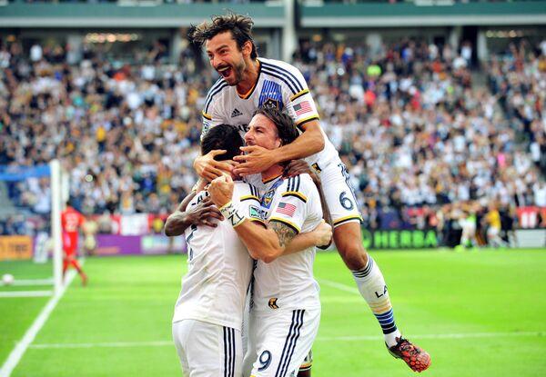 Футболисты Los Angeles Galaxy