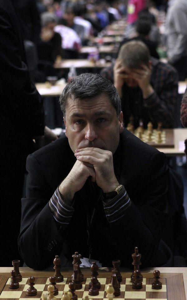 Украинский шахматист Василий Иванчук