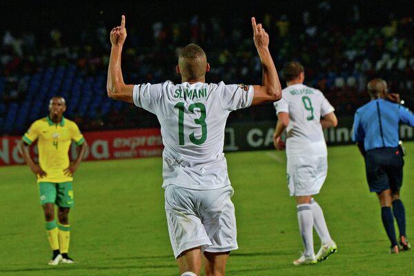 Игрок сборной Алжира Ислам Слимани