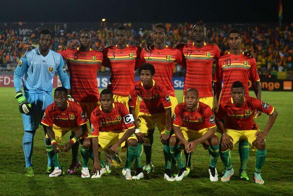 Футболисты сборной Гвинеи