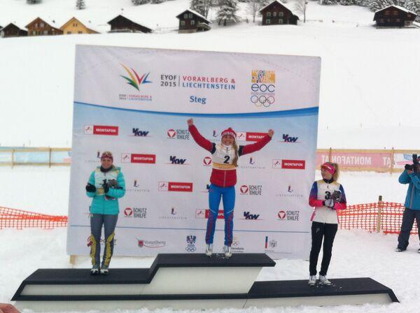Ольга Кучерук (в центре)
