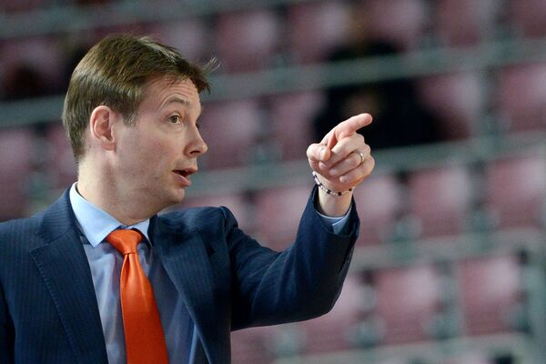 Главный тренер сборной России по баскетболу Олаф Ланге
