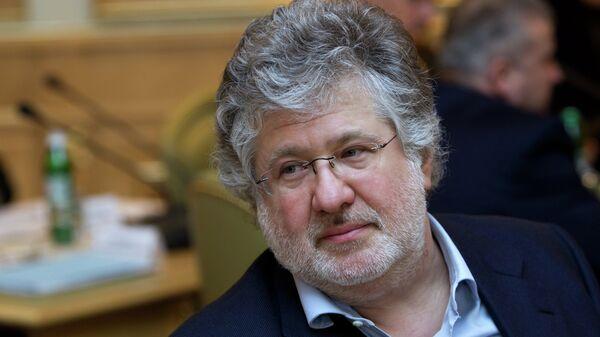 Назначенный главой Днепропетровской области Игорь Коломойский