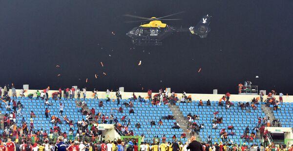 Беспорядки во время матча КАН между сборными Ганы и Экваториальной Гвинеи
