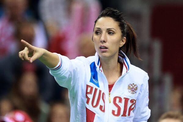 Каптин женской сборной России по теннису Анастасия Мыскина