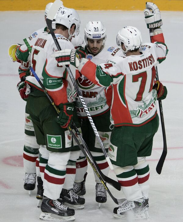 Хоккеисты Ак Барса
