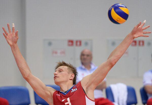 Волейболист сборной России Дмитрий Ковалев