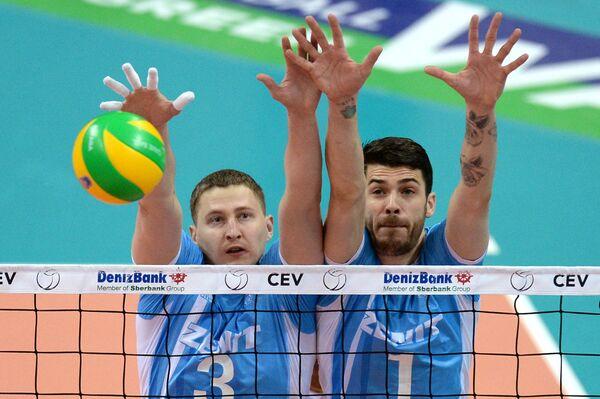 Николай Апаликов (слева) и Мэтью Андерсон