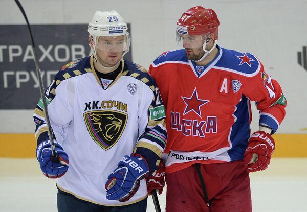 Игорь Радулов (слева) и Александр Радулов