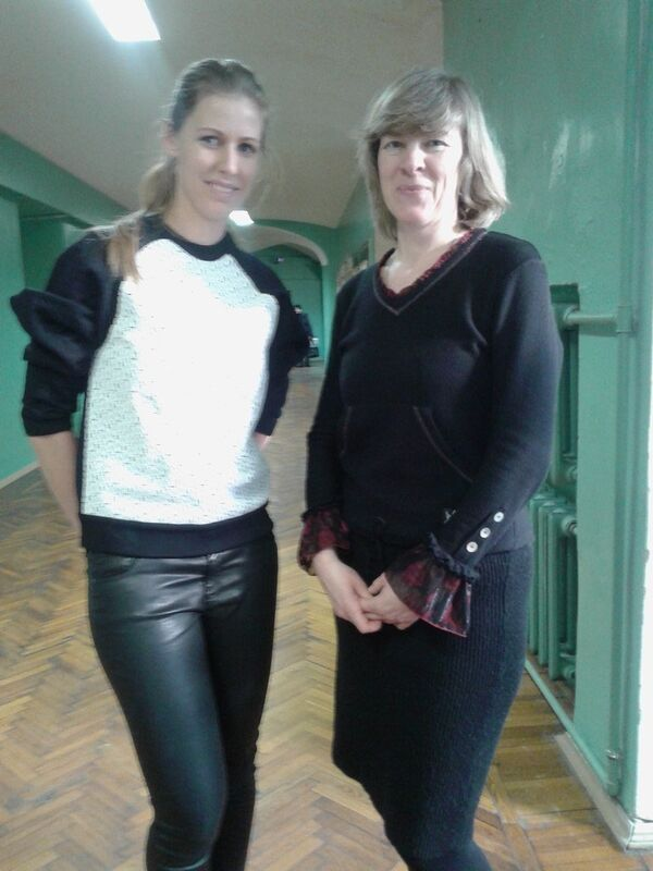 Елена Дементьева (слева)
