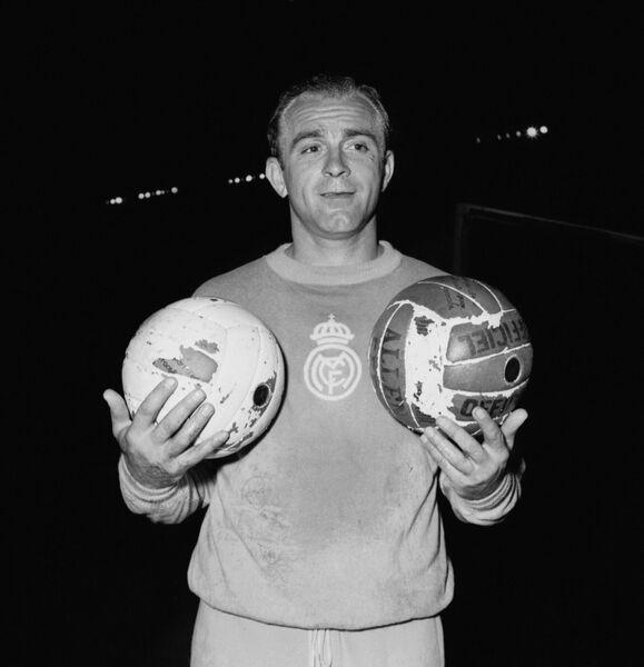 Нападающий мадридского Реала 50-60-х годов Альфредо Ди Стефано