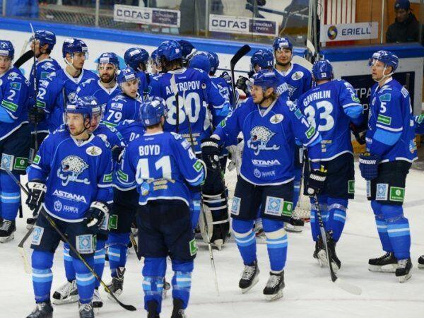 Хоккеисты астанинского Барыса