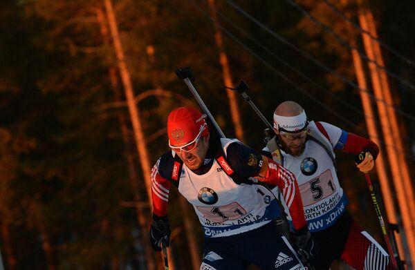 Слева направо: Евгений Гараничев (Россия), Даниэль Мезотич (Австрия)