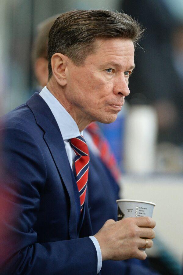 Главный тренер СКА Вячеслав Быков