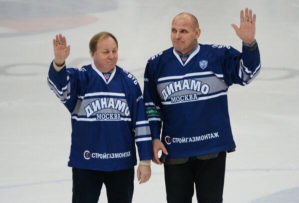 Василий Первухин и Александр Карелин (слева направо)