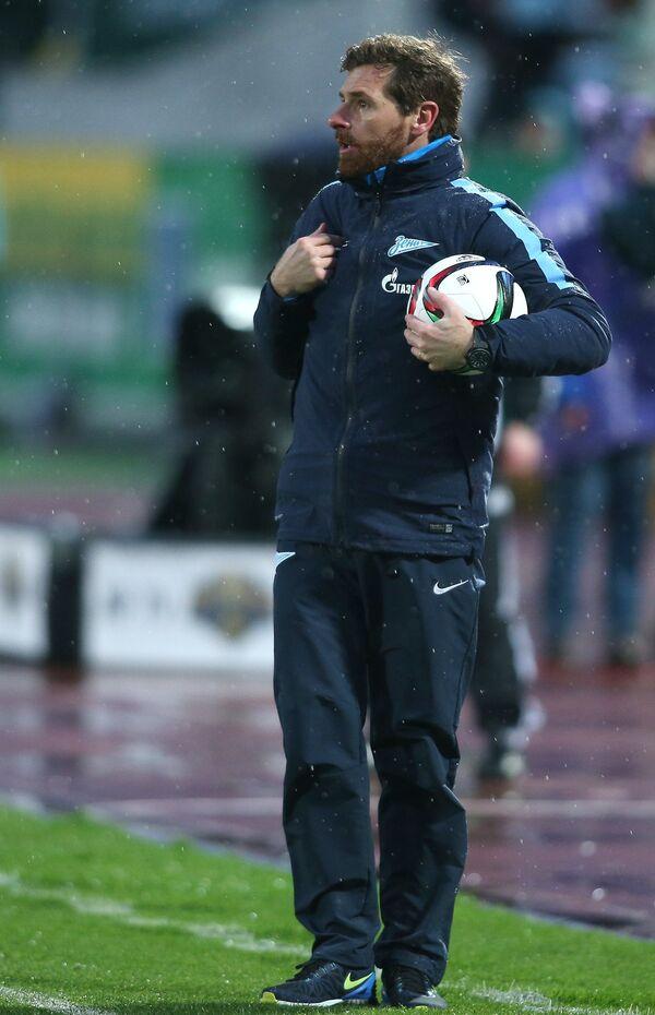 Главный тренер Зенита Андре Виллаш-Боаш
