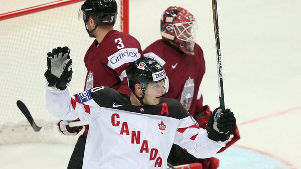 Нападающий сборной Канады Джейсон Спецца