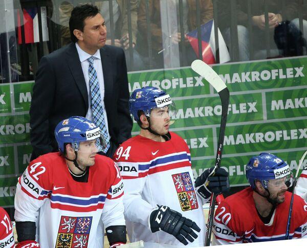 Главный тренер сборной Чехии Владимир Ружичка