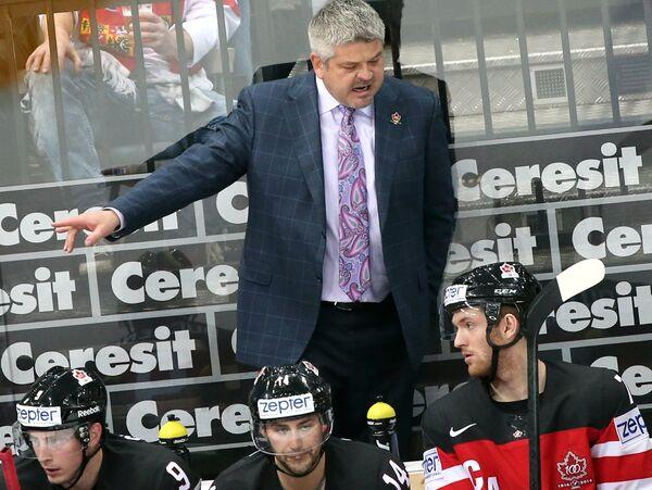 Главный тренер сборной Канады Тодд Маклеллан