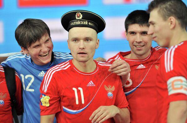 Данила Ипполитов, Егор Еремеев, Роман Заикин и Илья Леонов (слева направо)