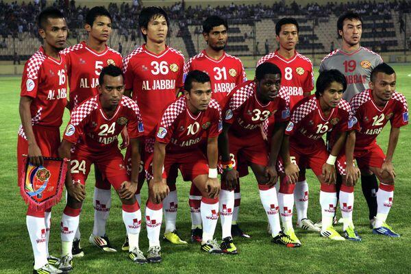 Футболисты малазийского клуба Келантан