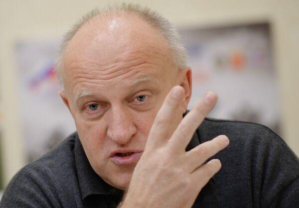 Главный тренер сборной команды России по велоспорту на треке Сергей Ковпанец