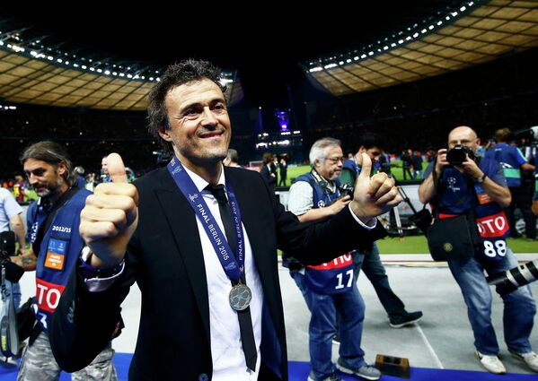 Главный тренер Барселоны Луис Энрике